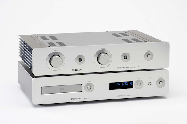 SUGDEN A21AII CD & AMP - FRONT2 WS