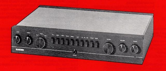 SUGDEN C128 PRE-AMPLIFIER WS