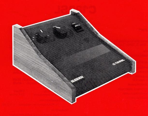 SUGDEN C128SL PRE-AMPLIFIER WS