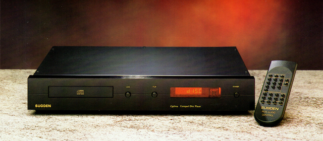 SUGDEN OPTIMA COMPACT DISC PLAYER WS