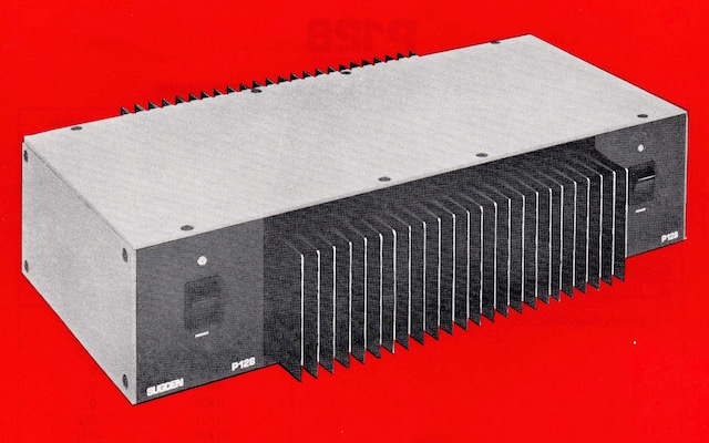 SUGDEN P128 POWER AMPLIFIER WS