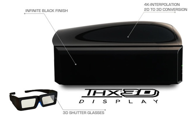 DREAMVISION INTI+ 2 BLACK - THX 3D WS