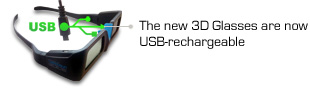 USB RECHARCHABLE GLASSES