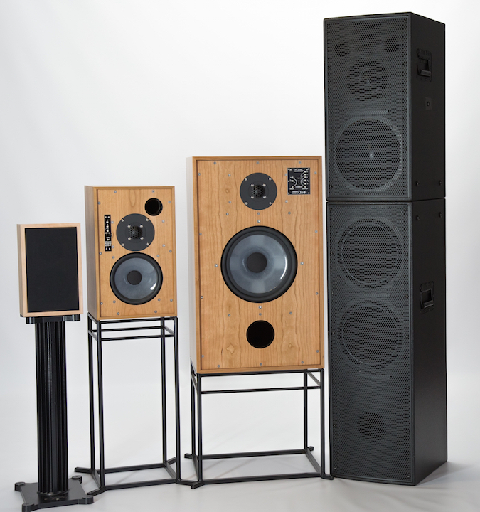GRAHAM AUDIO MONITORS & SYSTEM 3D GROUP CROPPED WS